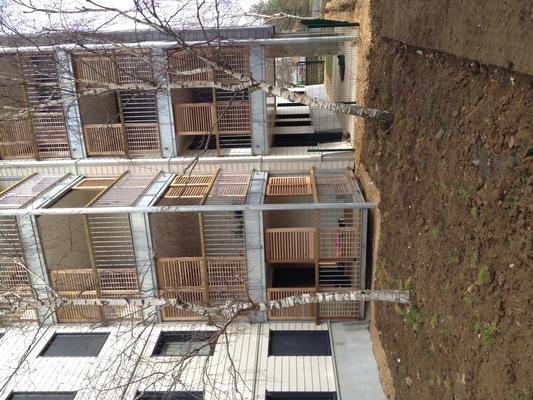 PhotoRéhabilitation de 146 logements LES TURBAUDIÈRES