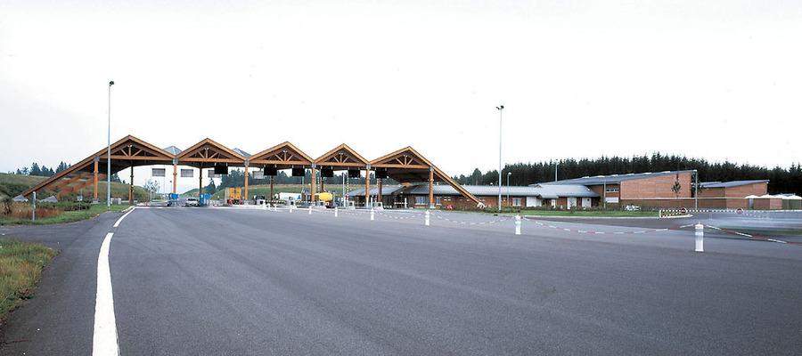 PhotoAuvents des Gares de Péage A89