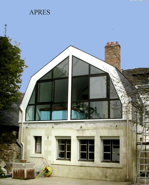 PhotoSurélévation maison à Briollay