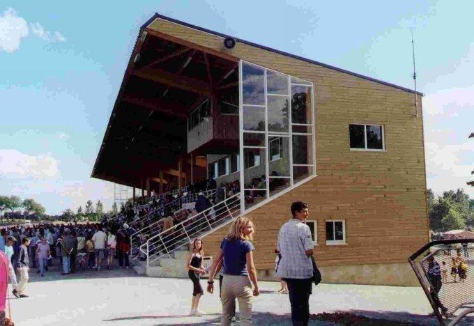 PhotoTribune hippodrome de la Bretonnière à Meslay du Maine
