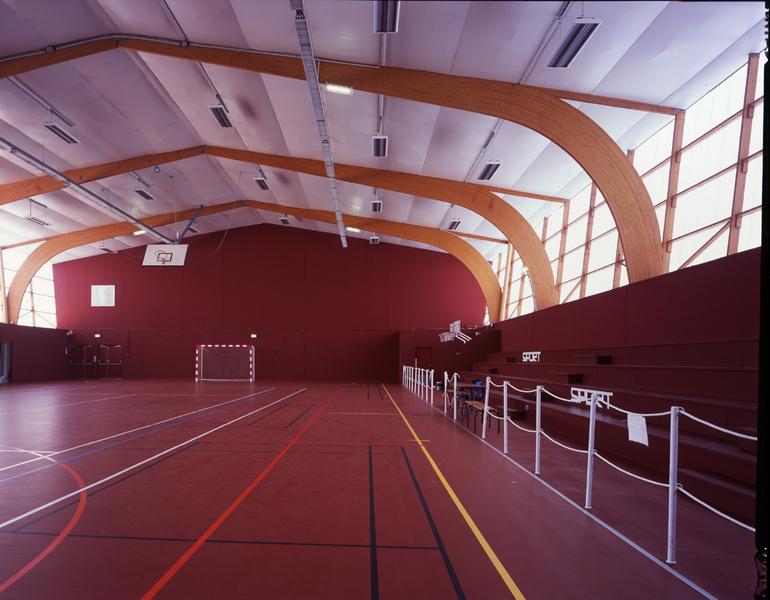 PhotoRéhabilitation de la salle de sports de La Suze
