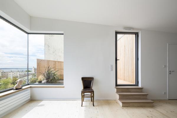PhotoSurélévation de maison à Brest