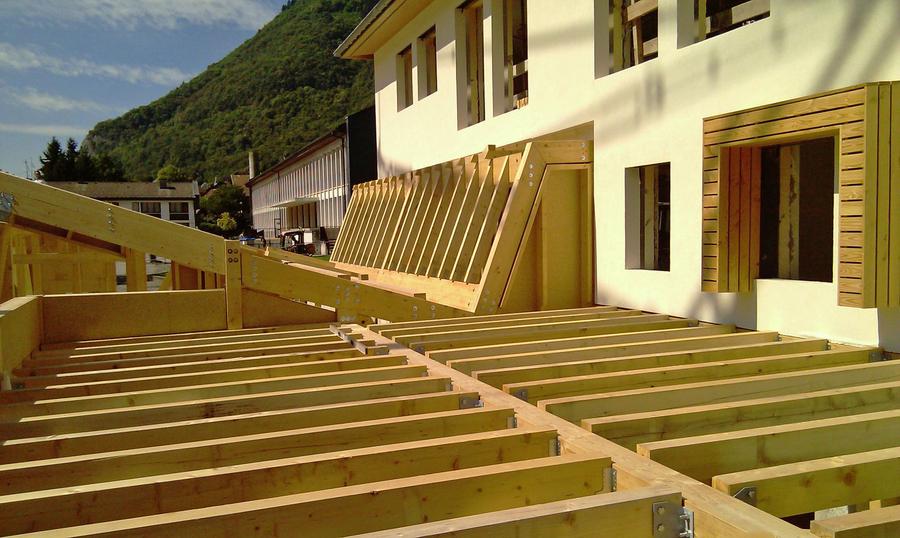 PhotoConstruction d'une crèche et des locaux administratifs